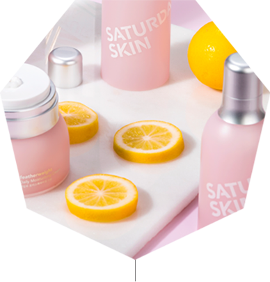 Lemon with Saturday Skin Products